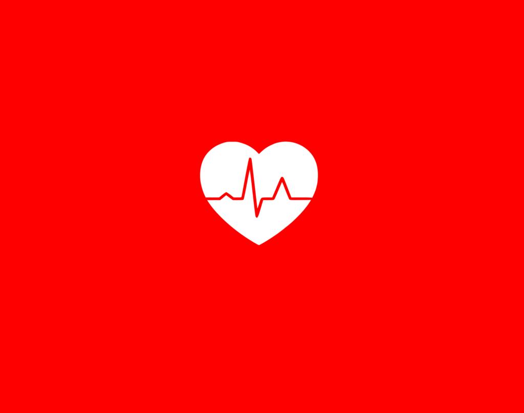 καρδιά κοκκινο φόντο